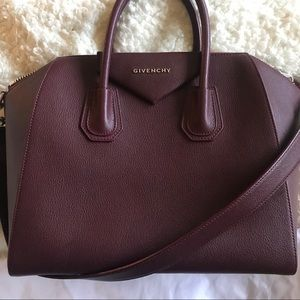 592ea54484d Givenchy Bags   Authentic Antigona Medium Oxblood Goat   Poshmark